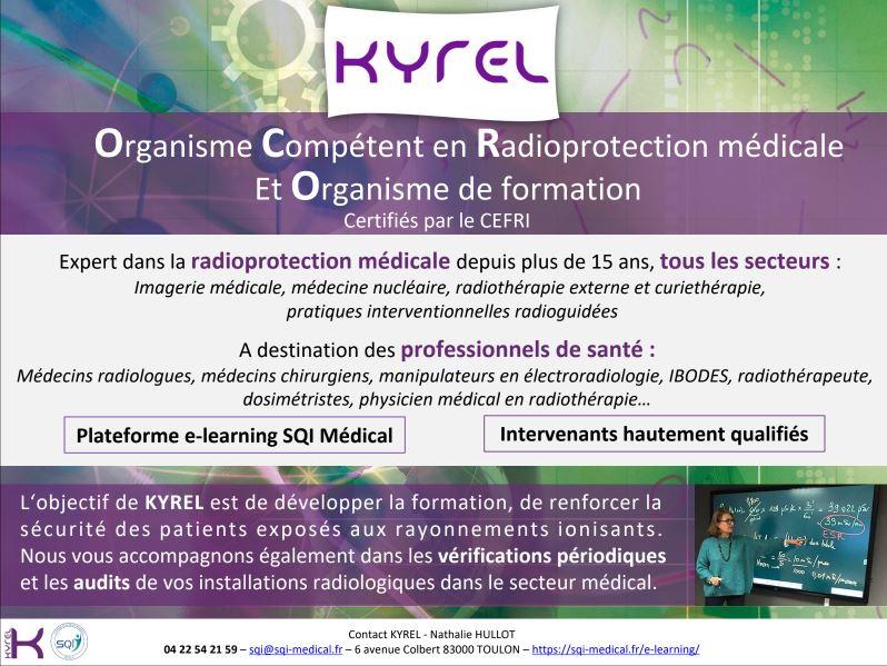 Plaquette organisme compétent en radioprotection